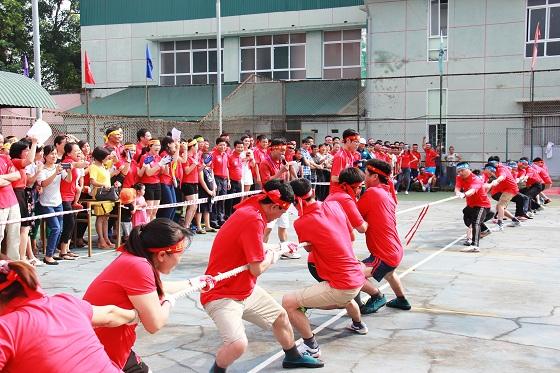 Công đoàn Công ty tổ chức thành công Hội thao Công ty năm 2017