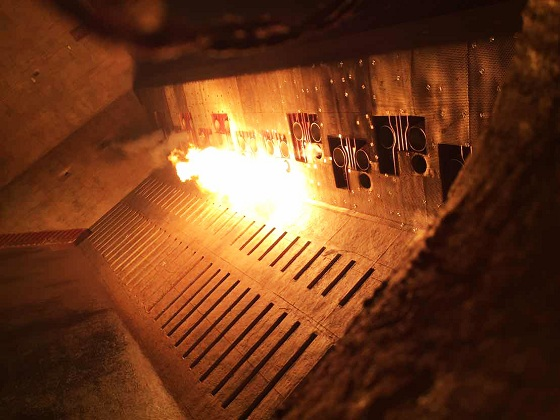 Đốt lò lần đầu lò hơi tổ máy số 2 Nhà máy Nhiệt điện Thái Bình 1