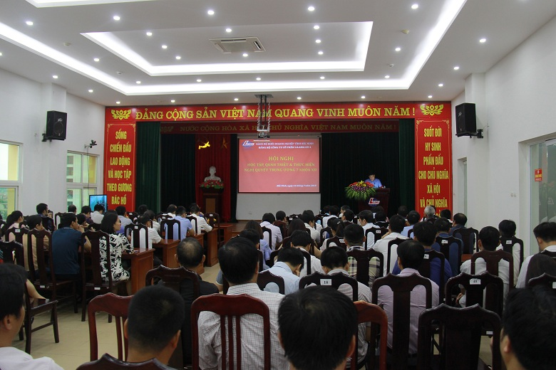 Đảng bộ Công ty tổ chức học tập, quán triệt và triển khai thực hiện Nghị quyết Hội nghị lần thứ 7 Ban Chấp hành Trung ương Đảng khoá XII