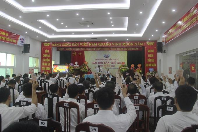 LILAMA 69-1 tổ chức thành công Đại hội Đảng bộ lần XII, nhiệm kỳ 2020-2025