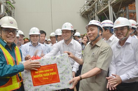 Thủ tướng thăm dự án Nhà máy Nhiệt điện Thái Bình 1